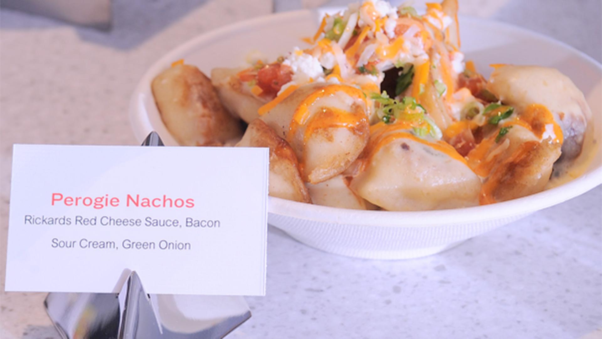 perogie perogy nachos food
