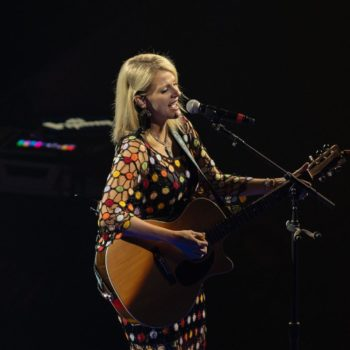 Carrie Underwood performing at Rogers Place on May 28, 2019