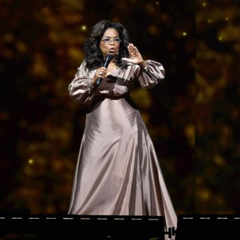 Oprah at Rogers Place on June 20, 2019