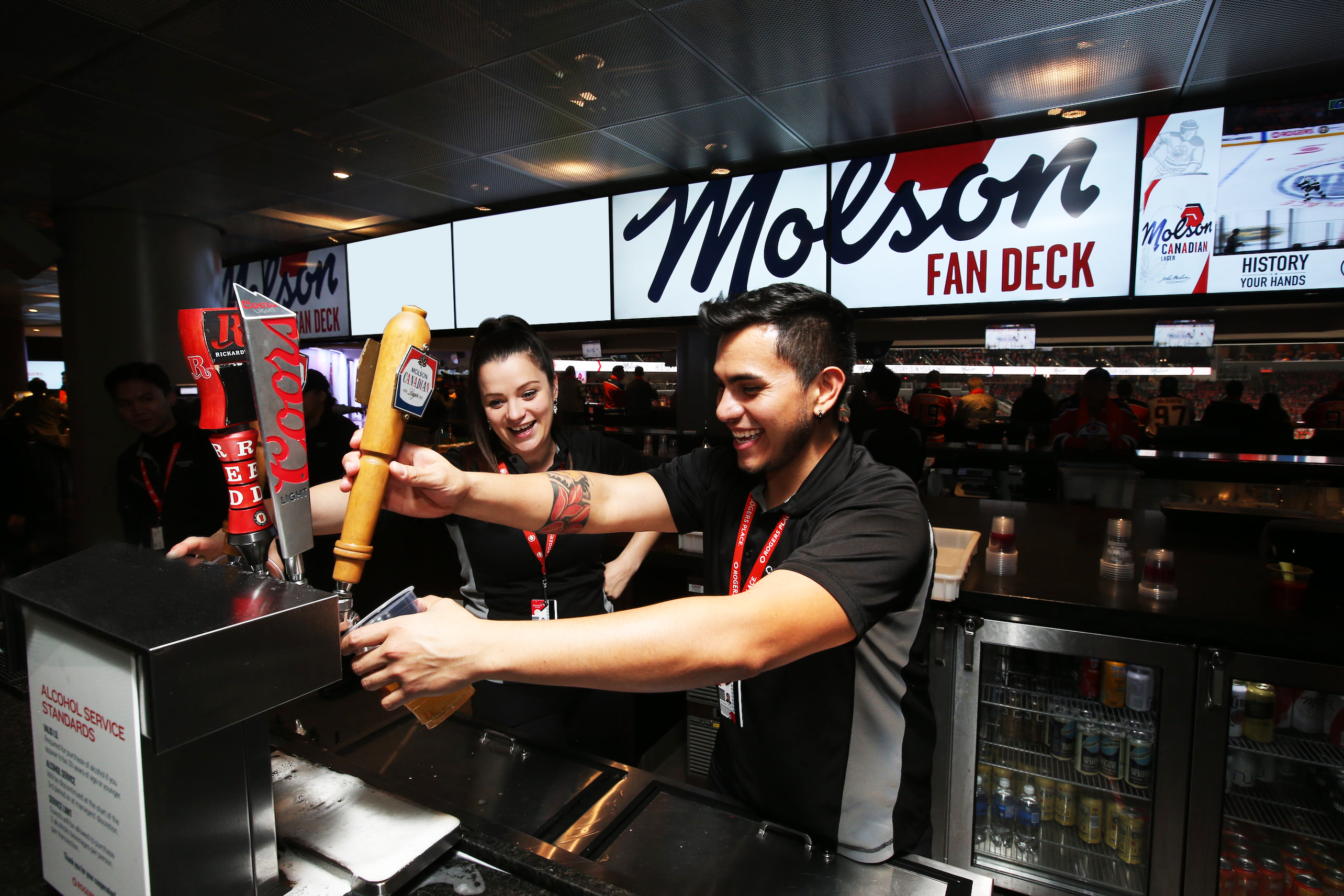 Molson Fan Deck (North)