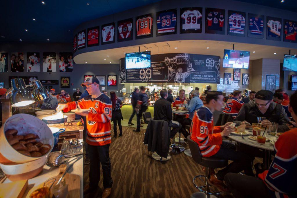 Studio 99 is open for Oilers Games