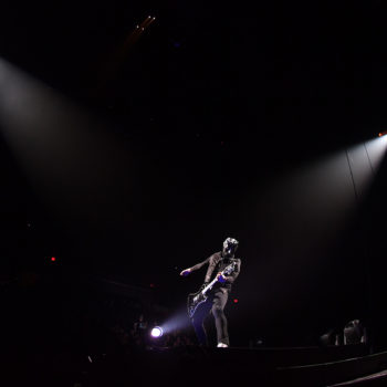 Ghost performing at Rogers Place
