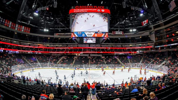 Oilers Game at Rogers Place