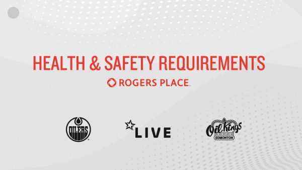 Health and Safety Requirements at Rogers Place